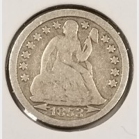 Seated Liberty Dimes in VG Condition