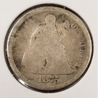 Seated Liberty Dimes in Good Condition