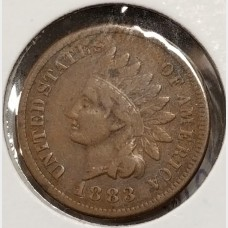Indian Head Cents in VF Condition
