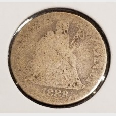 Seated Liberty Dimes in AG Condition