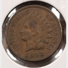 Indian Head Cents in XF Condition