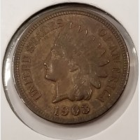 Indian Head Cents in AU Condition