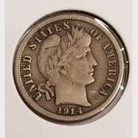 Barber Dimes in XF Condition