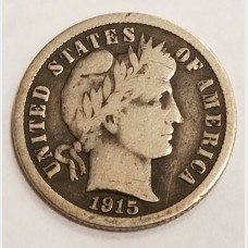 Barber Dimes in VG Condition
