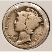 Mercury Dimes in AG Condition