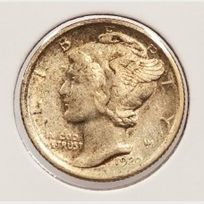 Mercury Dimes in VF Condition