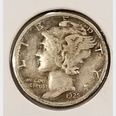 Mercury Dimes in Fine Condition