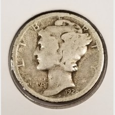 Mercury Dimes in Good Condition