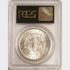 1883-O Morgan Silver Dollar PCGS MS65 OGH