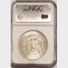 1886 Morgan Silver Dollar NGC MS65
