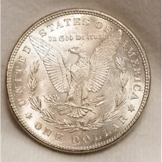 1885 Morgan Silver Dollar BU RAW