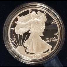 2004 W American Eagle 1 Ounce Bullion Coin $1 Proof US Mint