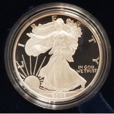2005 W American Eagle 1 Ounce Bullion Coin $1 Proof US Mint
