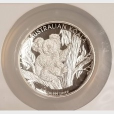 2013 AU Silver Australia Koala High Relief One of First 1000 Struck $1 PR-70 NGC UCAM
