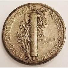 1931 S Mercury Dime Extra Fine