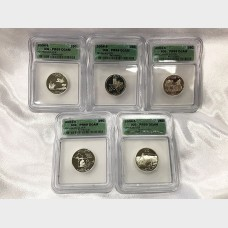 2004-S State Quarters ICG PR-69 5 Coin Set