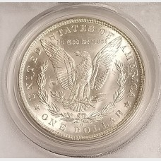 1883-O Morgan Silver Dollar PCGS MS65
