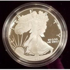 1992 S American Eagle 1 Ounce Bullion Coin $1 Brilliant Uncirculated US Mint