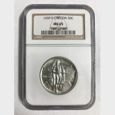 1939 P, D, S Oregon Trail MS-65