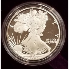1988 S American Eagle 1 Ounce Bullion Coin $1 Brilliant Uncirculated US Mint
