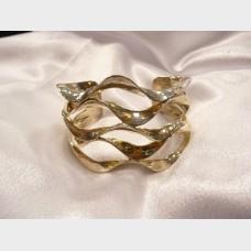 Italian Sterling Silver Cuff Bracelet