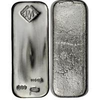 Johnson Matthey JM Silver 100 ozt Bar