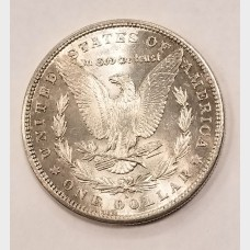 1881-S Morgan Silver Dollar BU RAW