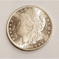 1882-O Morgan Silver Dollar BU RAW