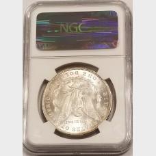 1897 Morgan Silver Dollar NGC MS64+
