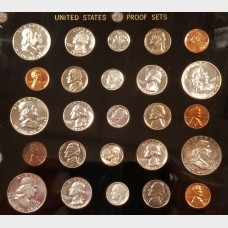 United States Proof Sets 11 Set Collection (1950-1960)