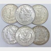 Pre-1921 Morgan Silver Dollar VF-AU Condition  (Single Coin)