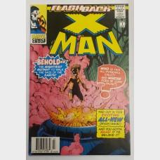 Marvel Comics X-Man Flashback -1