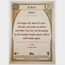 Jo Adell Los Angeles Angels 2021 Topps RC Baseball Card