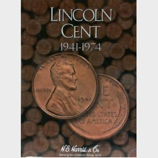 Lincoln Cent 1941-1974 Coin Folder