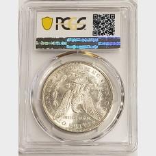 1881-S Morgan Silver Dollar PCGS MS66+