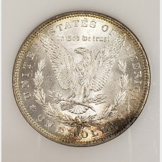 1885 Morgan Silver Dollar CH BU RAW
