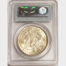 1890-O Morgan Silver Dollar PCGS MS64