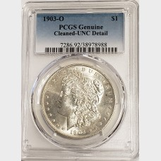 1903-O Morgan Silver Dollar PCGS Genuine