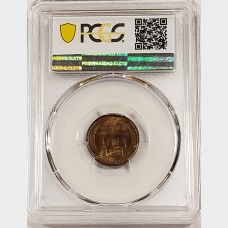 1909-S Lincoln Wheat Cent PCGS MS63 Brown