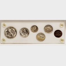 1942 Silver 6 Coin U.S. Proof Set