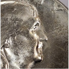 1955 Franklin Bugs Bunny FS-401 Silver Half Dollar CH BU