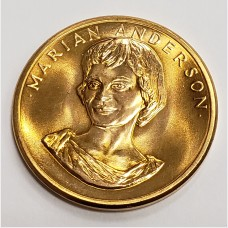 1980 U.S. Mint Marian Anderson American Arts Gold Medallion