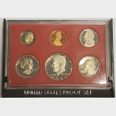 1981-S U.S. Clad Proof Set w/Type 2 Coins