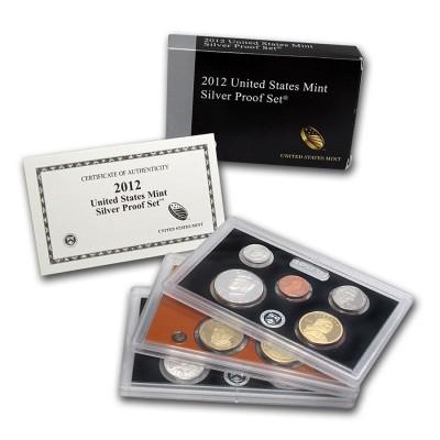 2012 S U.S. Mint Silver Proof Set