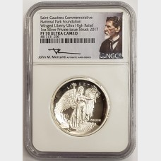 2017 Saint-Gaudens National Park Foundation Commemorative NGC PF70 Ultra Cameo