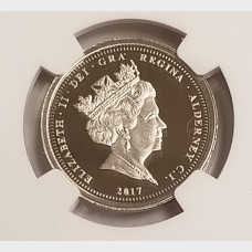 2017 Wedding Anniversary First Platinum Sovereign NGC PR70 Ultra Cameo
