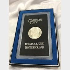 1884-Carson City Uncirculated Silver Dollar