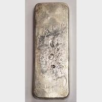 Johnson Matthey Silver 50 ozt Bar