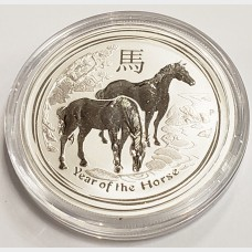 2014 Australia Year of the Horse Silver 1/2 oz Coin