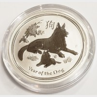 2018 Australia Year of the Dog Silver 1/2 oz Coin